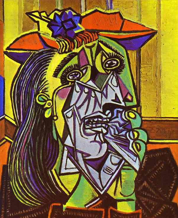 Weeping Woman by Pablo Picasso (1937)