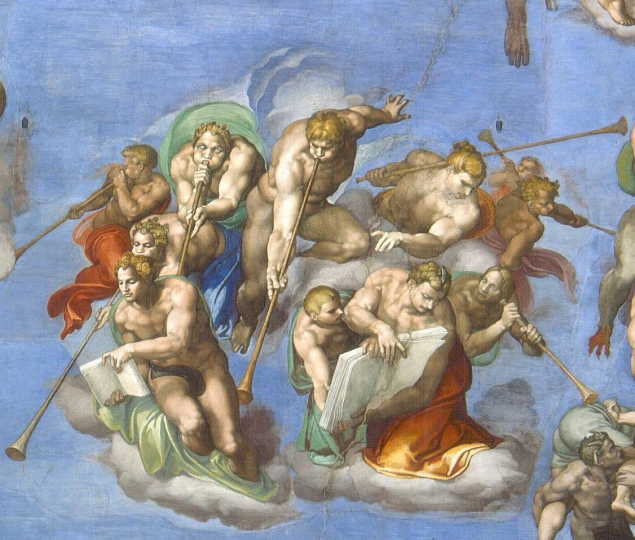 Michelangelo, Last Judgement